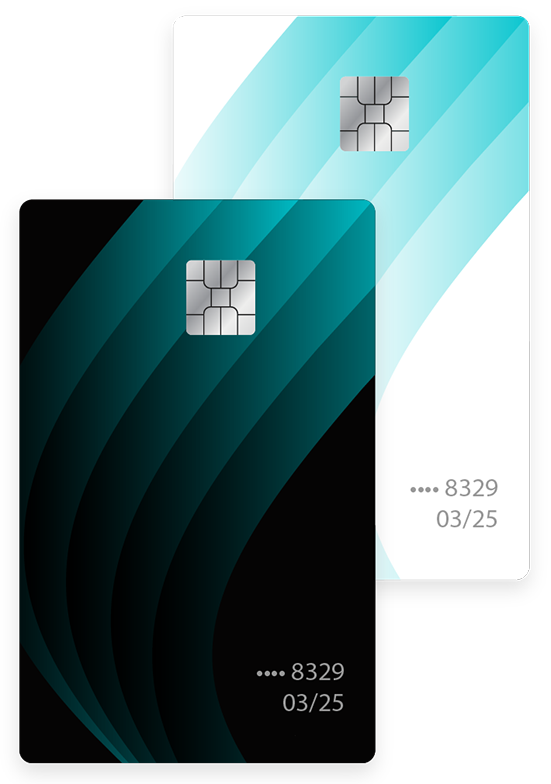 Debit card illustration