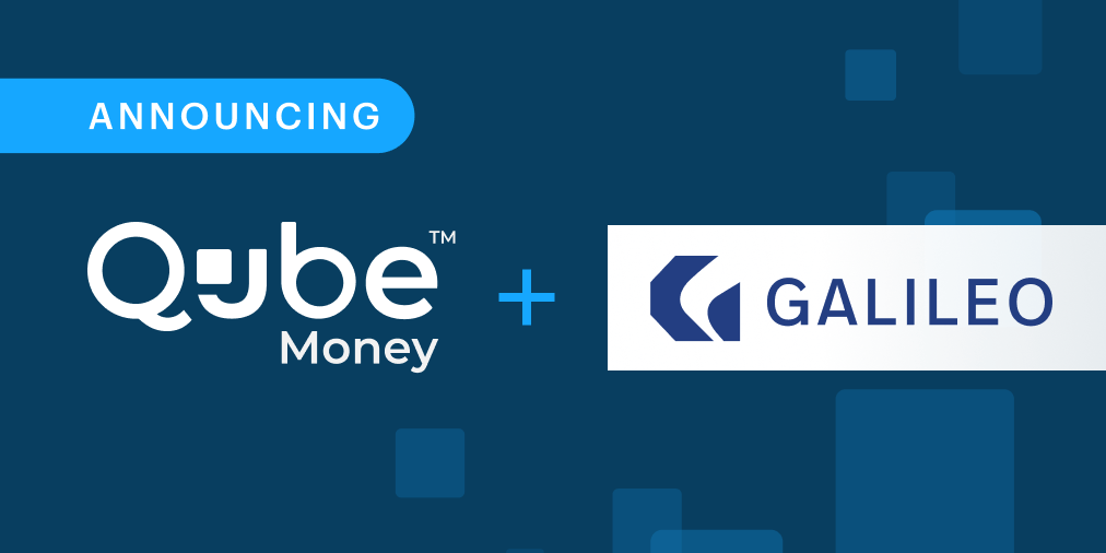 Qube and Galileo logos