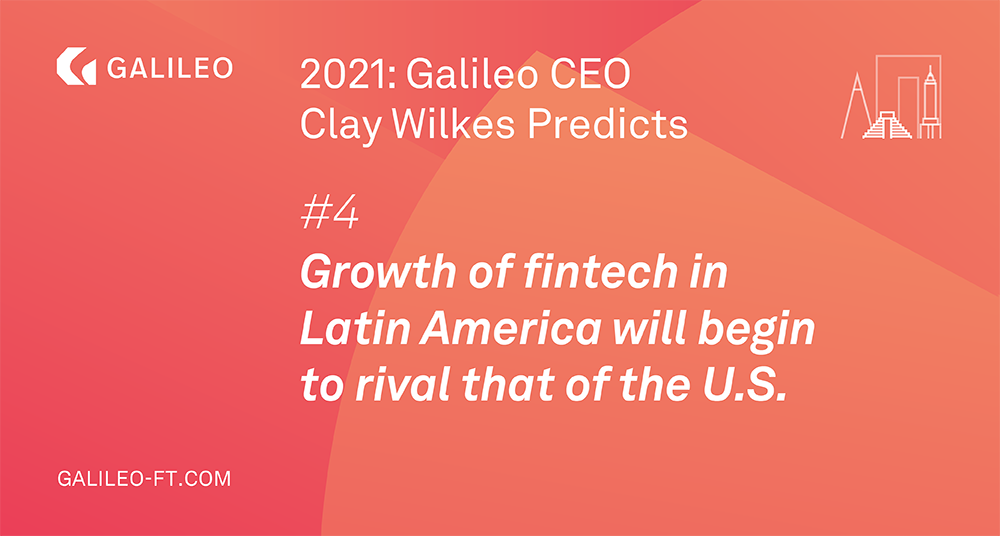 Growth of fintech in Latin American will begin to rival that of the U.S. image